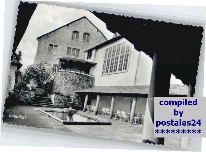 Historische Terrasse - Burghaus & Villa Kronenburg
